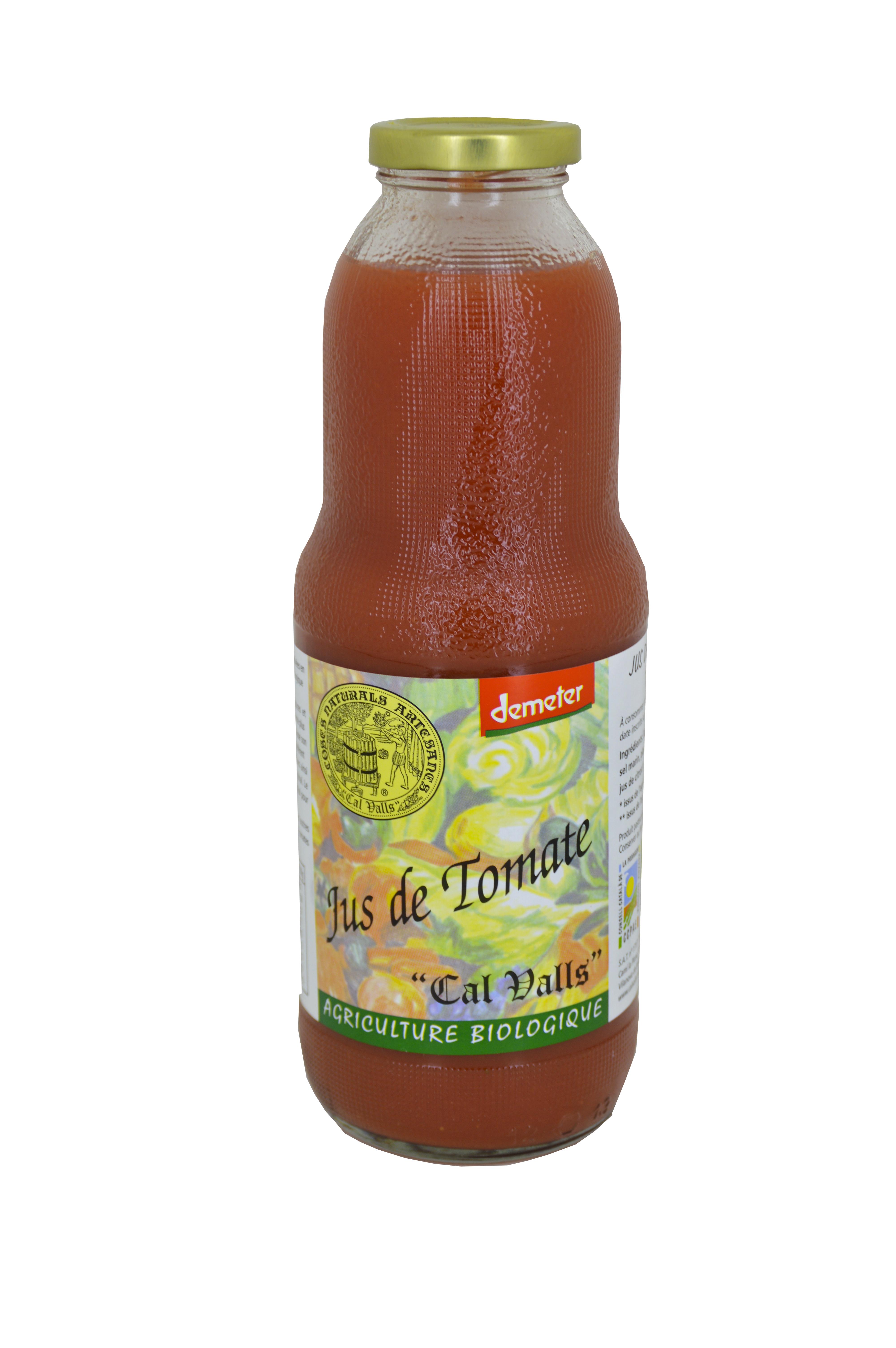 Jus de tomate Bio, Call Valls Biodynamie (1 L)