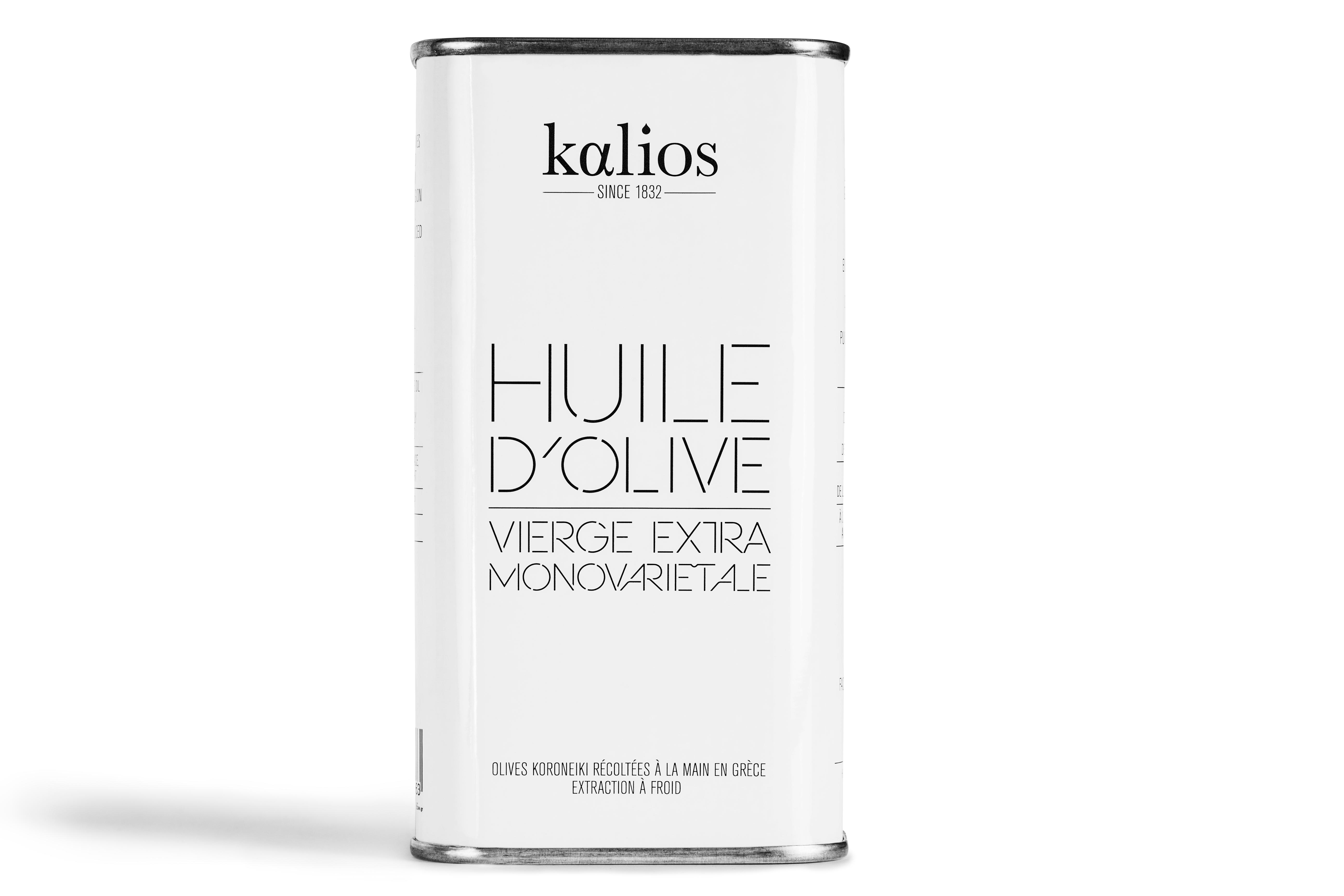 Huile d'olive vierge monovarietale, Kalios (25 cl)