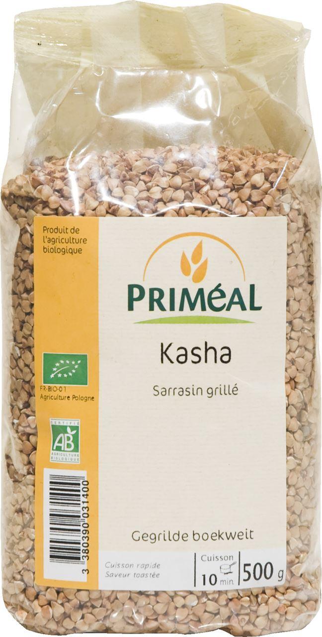 Kasha - Sarrasin grillé BIO, Priméal (500 g)