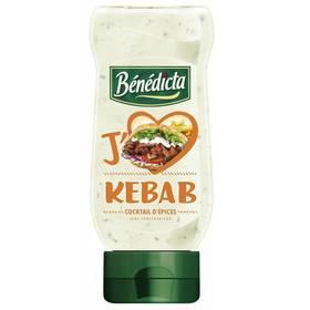 Sauce Kebab flacon souple, Bénédicta (245 g)