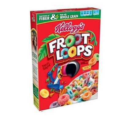 Céréales Froot Loops, Kellogg's (345 g)
