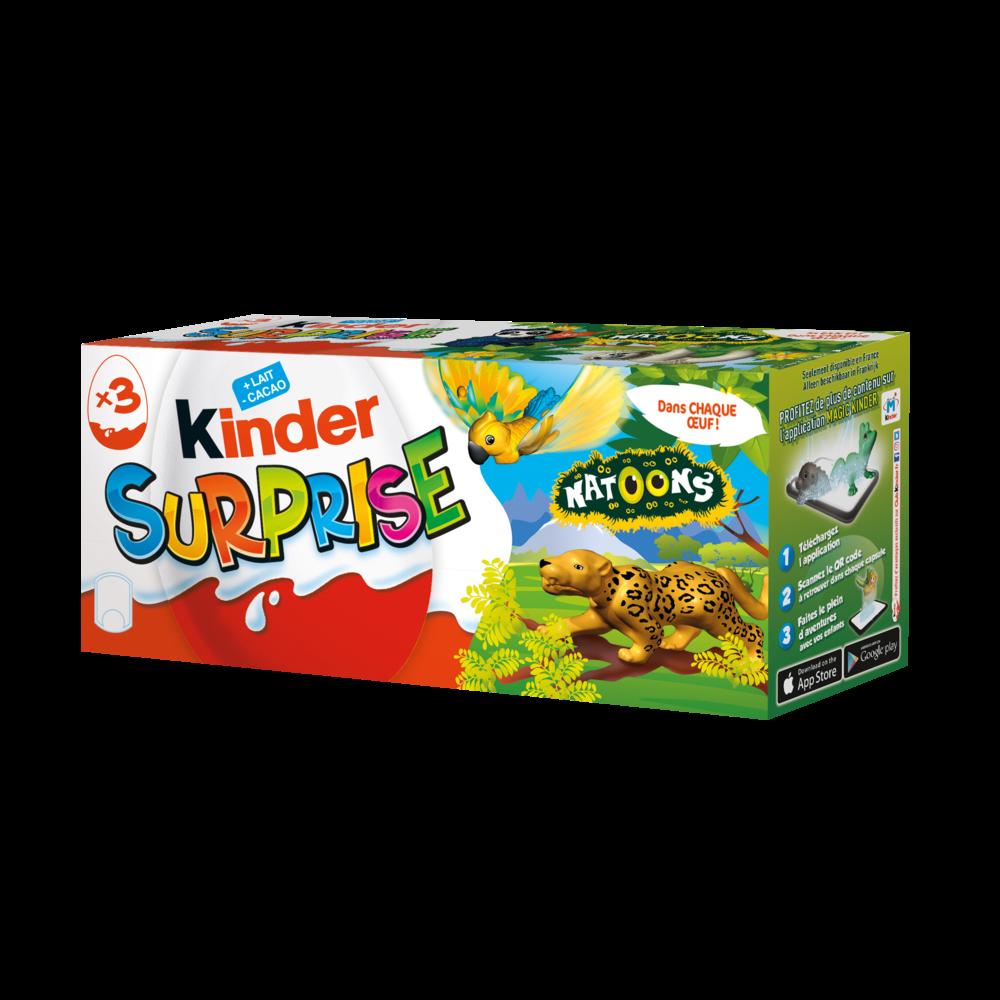 Kinder surprise Natoons (3 x 20 g)