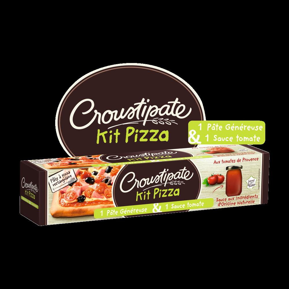 Kit pizza, Croustipate (600 g)