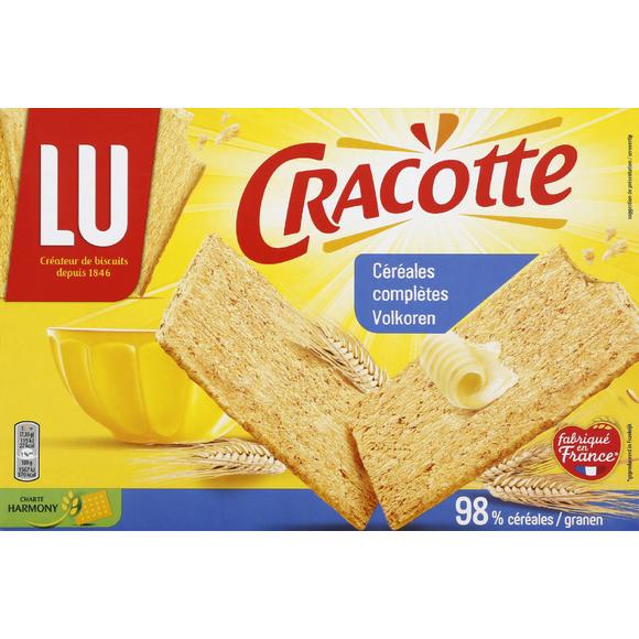 Cracotte aux céréales complètes, Lu (250 g)