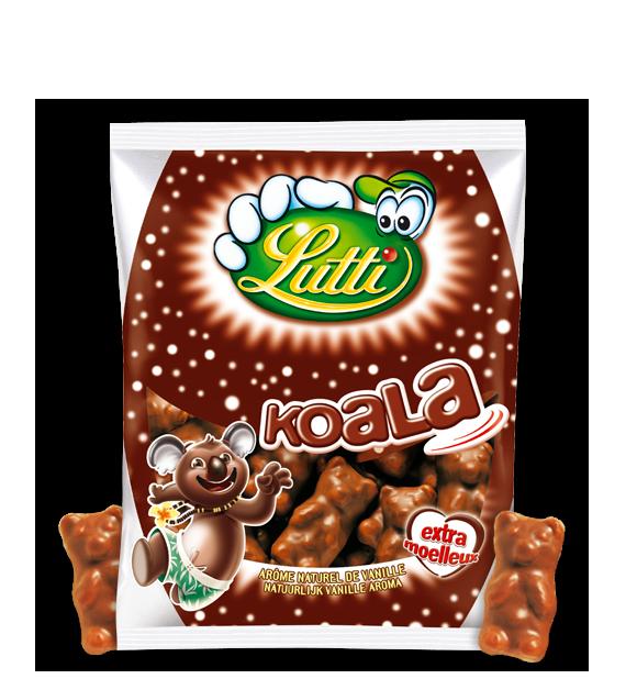 Koala chocolat au lait, Lutti (185 g)