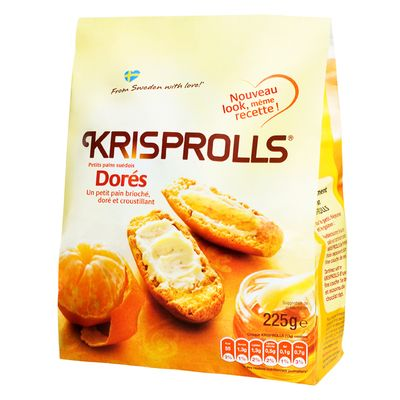 Krisprolls dorés (225 g)