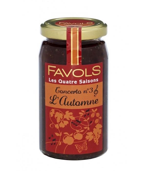 Confiture fruits d'automne, Favols (260 g)