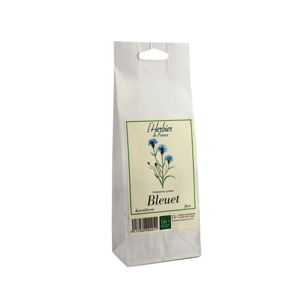 Bleuet BIO, Herbier de France (15 g)