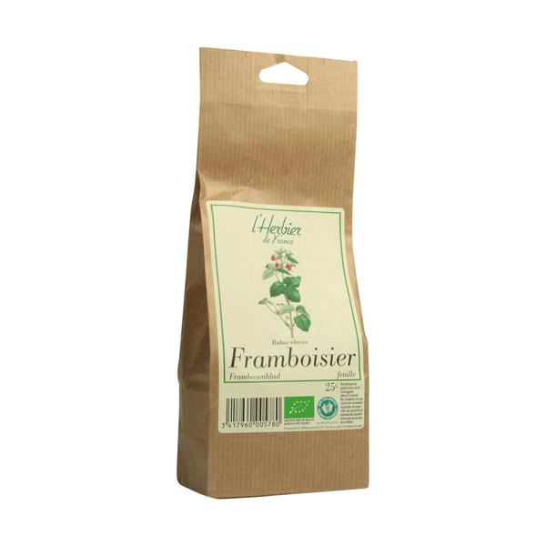 Feuilles de framboisier BIO, Herbier de France (25 g)