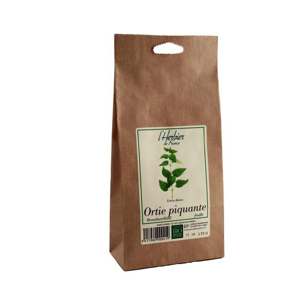 Ortie piquante feuilles BIO, Herbier de France (50 g)