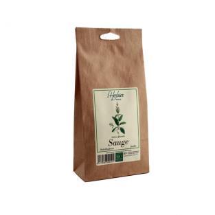 Sauge feuilles BIO, Herbier de France (40 g)