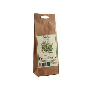 Thym citronné feuilles BIO, Herbier de France (50 g)