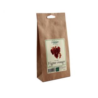 Vigne rouge feuilles BIO, Herbier de France (50 g)