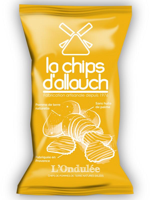 La chips ondulée d'allauch, Provence Chips (125 g)