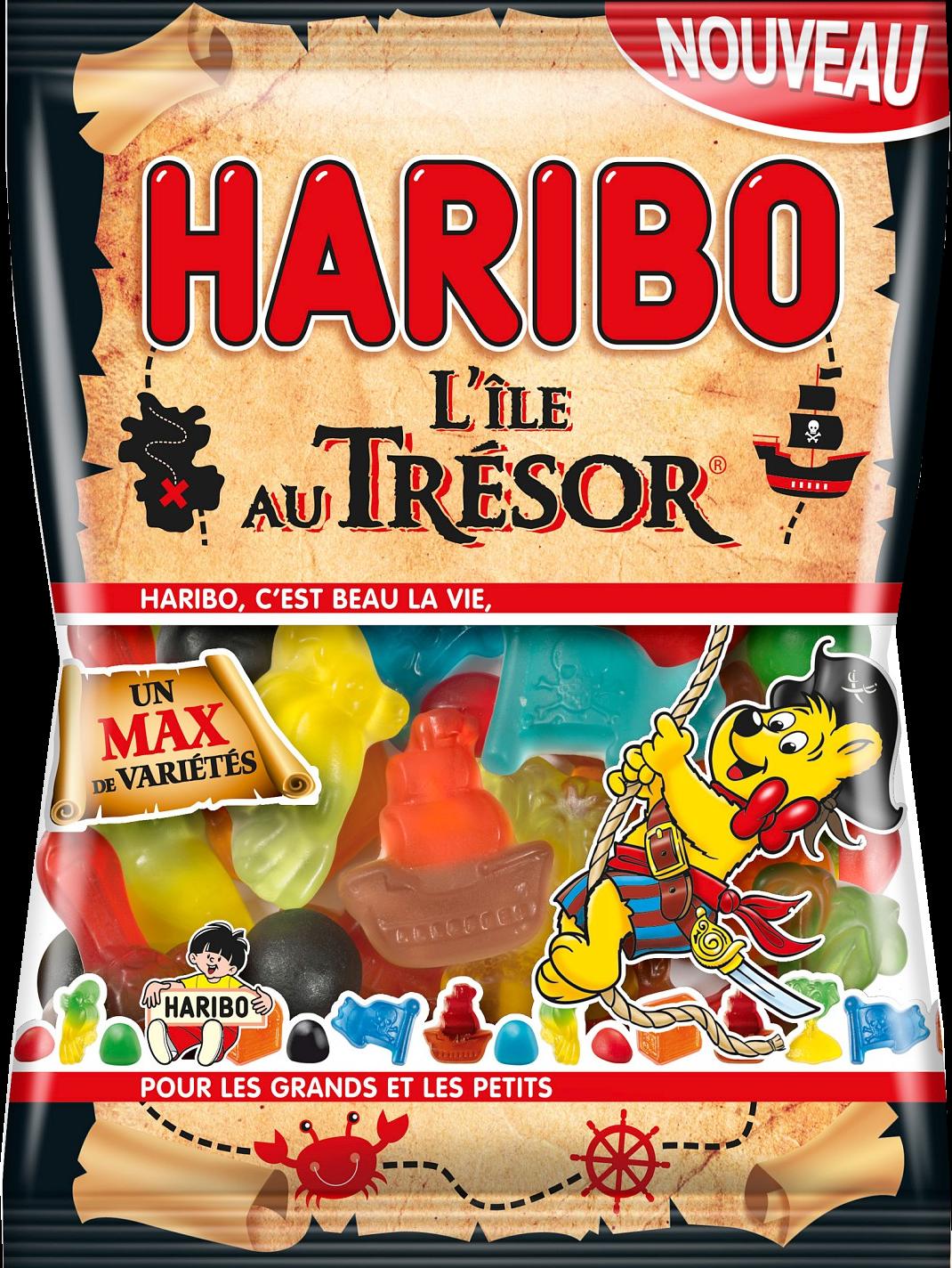 Bonbons L'ile Au Tresor, Haribo (120 g)