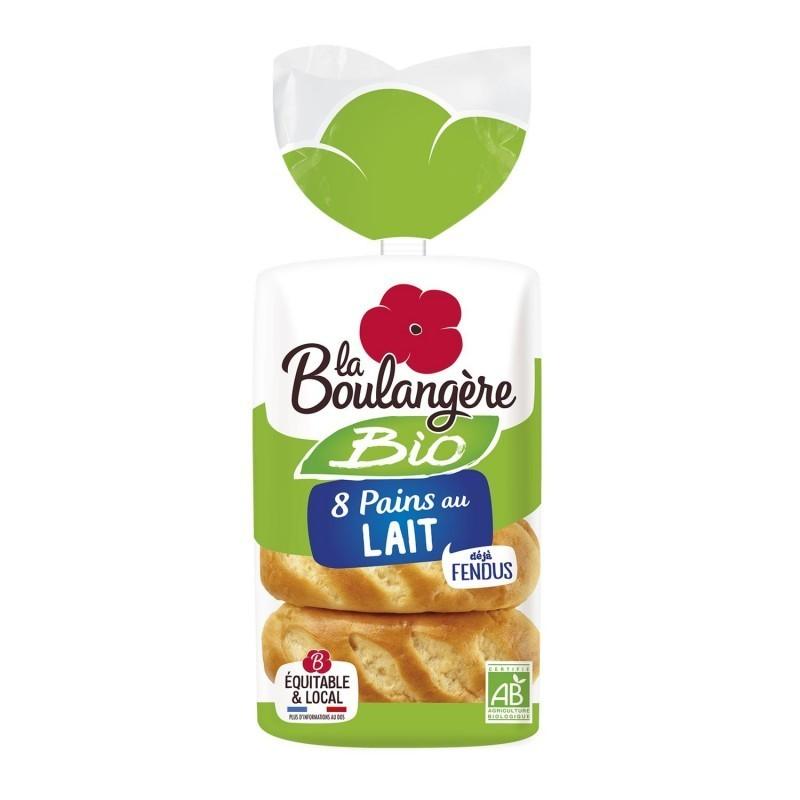 Pains au lait BIO, La Boulangère (x 8, 250 g)