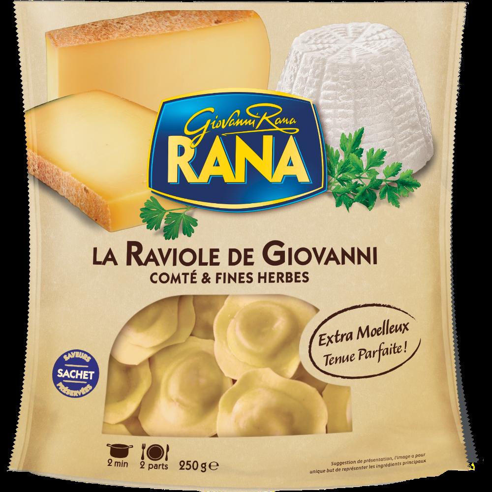 Raviole de Giovanni comté et fines herbes, Giovanni Rana (250 g)