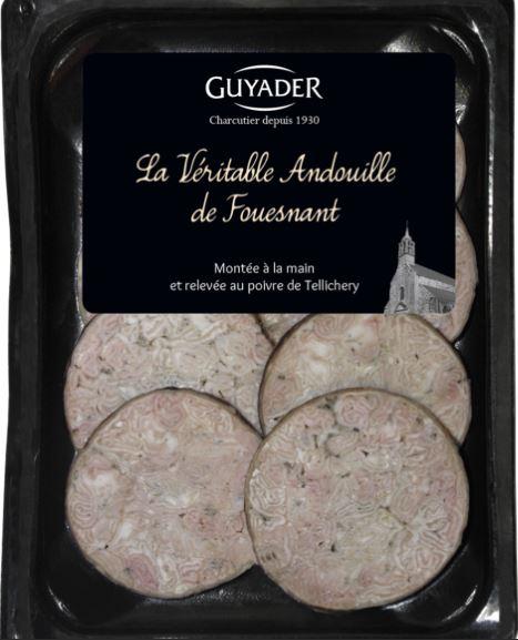 La Véritable andouille de Fouesnant, Guyader (8 tranches, 130 g)