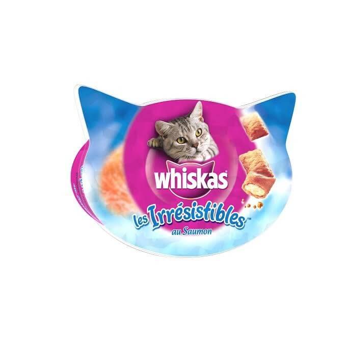 Les irrésistibles au saumon, Whiskas (60 g)