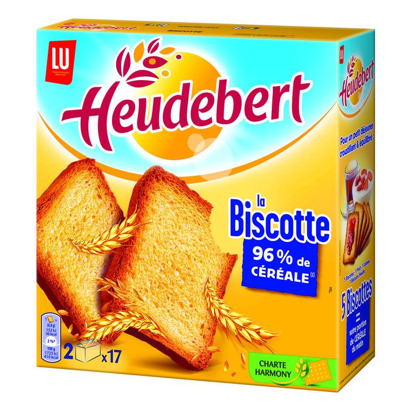 Biscottes nature, Heudebert (300 g)