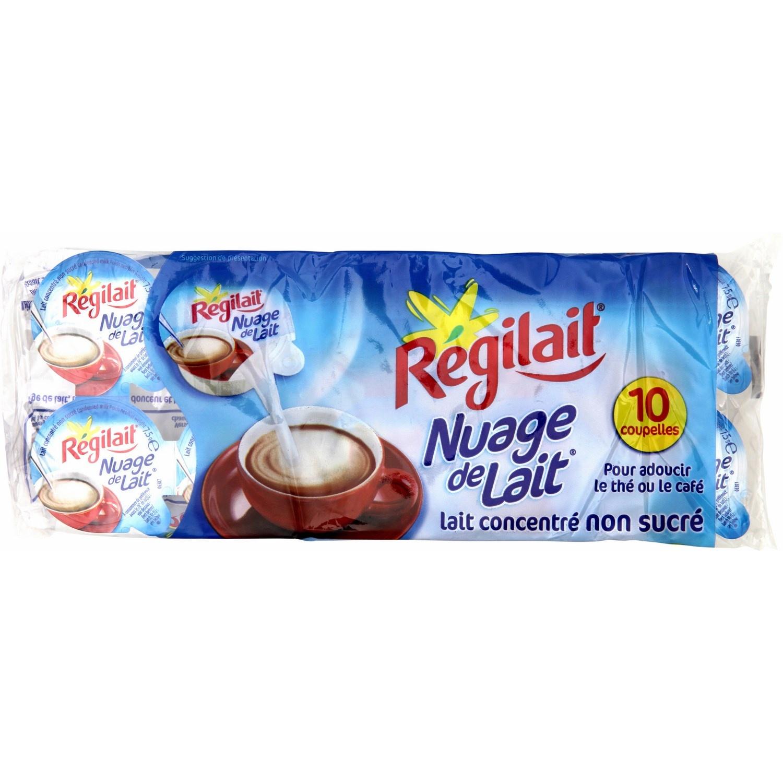 Nuage de lait en dosette, Régilait (x 10 - 7,5 g)