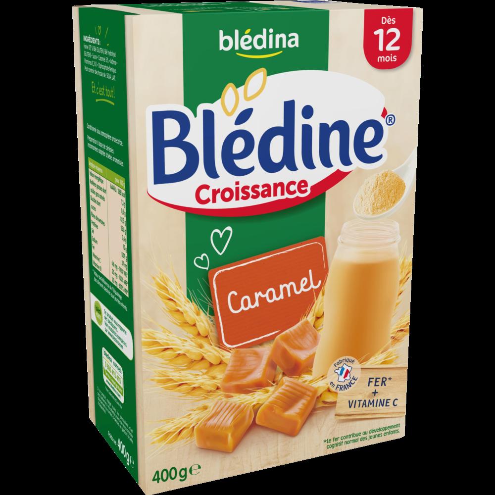 Blédine croissance caramel - dès 12 mois, Blédina (400 g)
