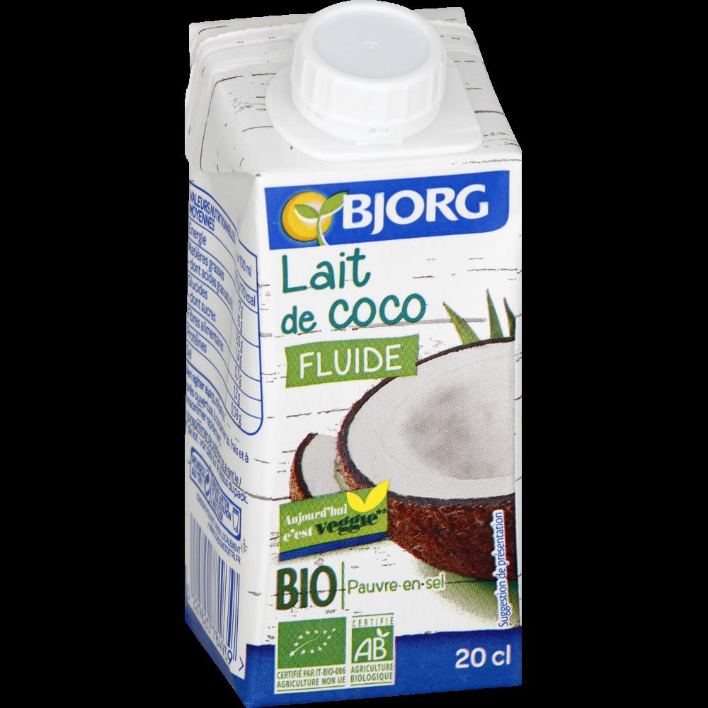 Lait de coco BIO, Bjorg (200 ml)