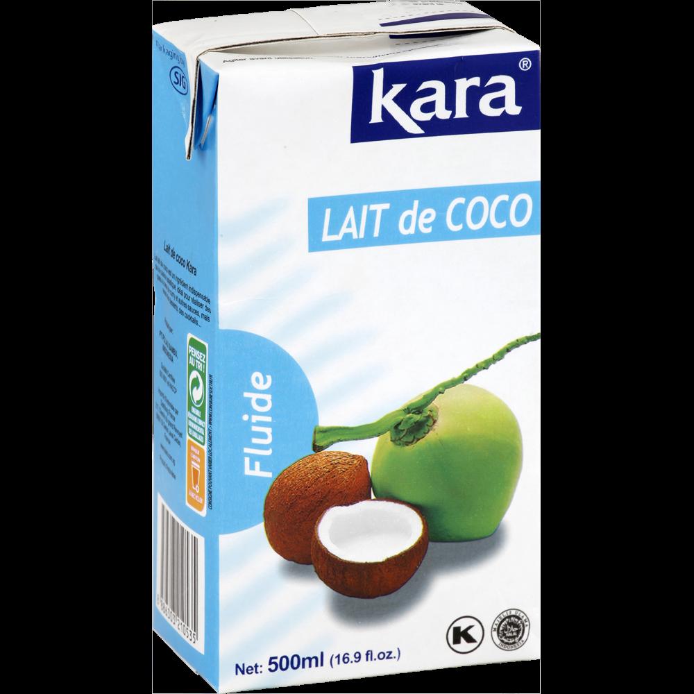 Lait de noix de coco, Kara (500 ml)