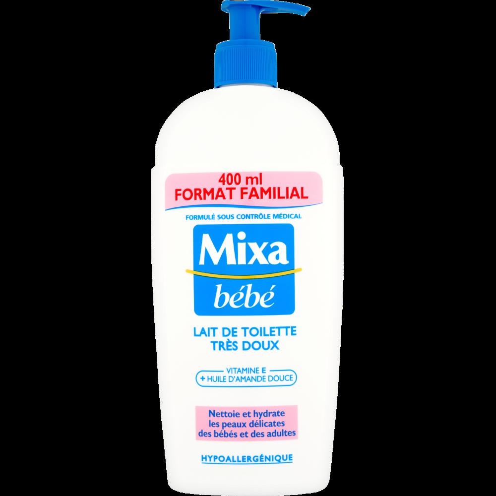 Lait de toilette, Mixa Bébé (400 ml)