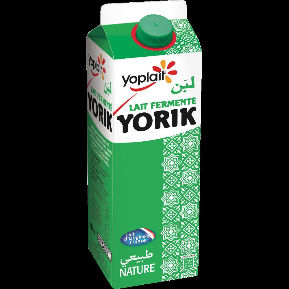 Lait fermenté Yorik, Yoplait (1 L)