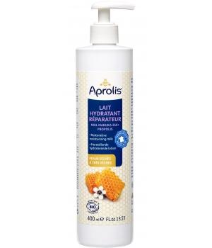Lait hydratant réparateur : manuka, propolis, Aprolis (400 ml)