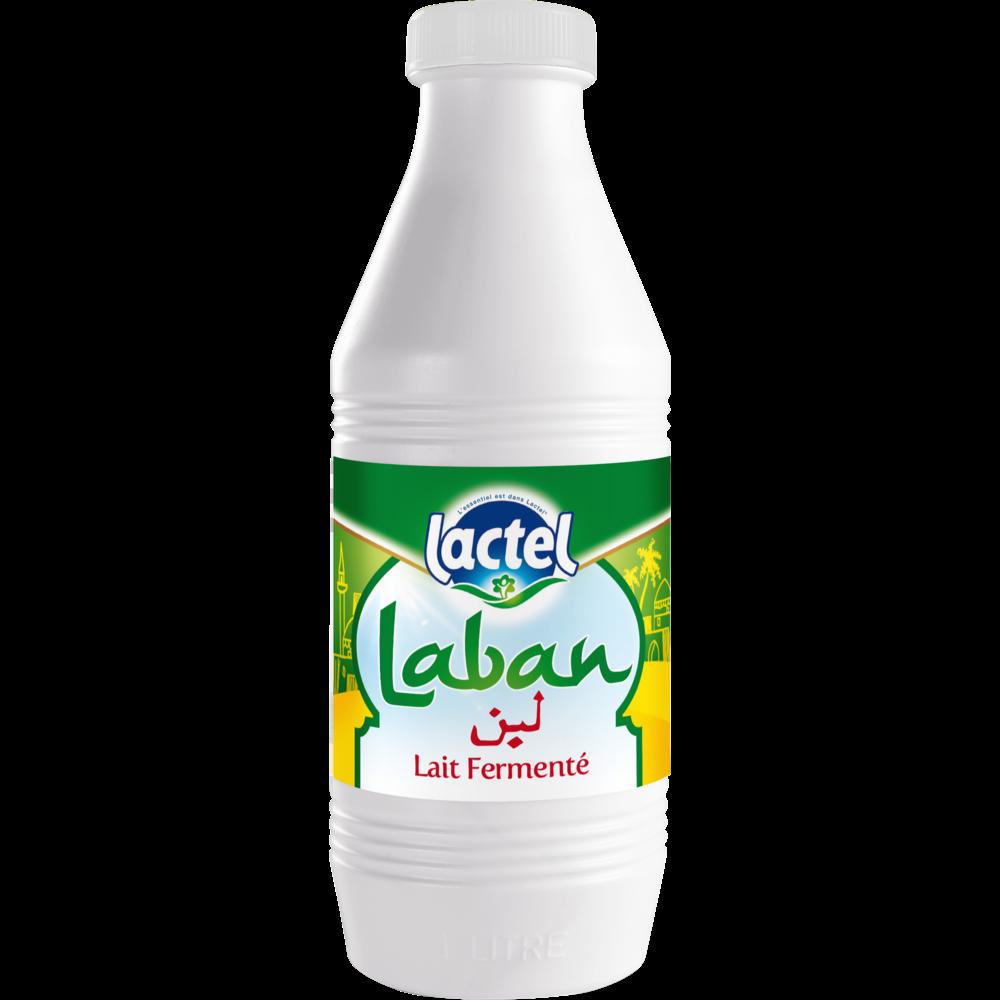 Lait pasteurisé fermenté Laban, Lactel (1 L)