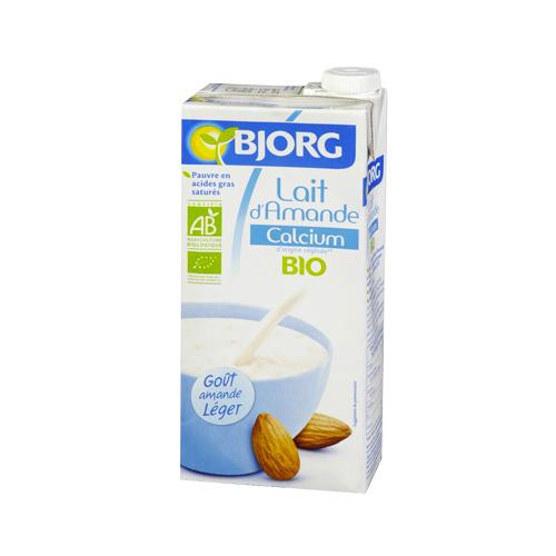 Lait d'amande calcium BIO, Bjorg (1 L)