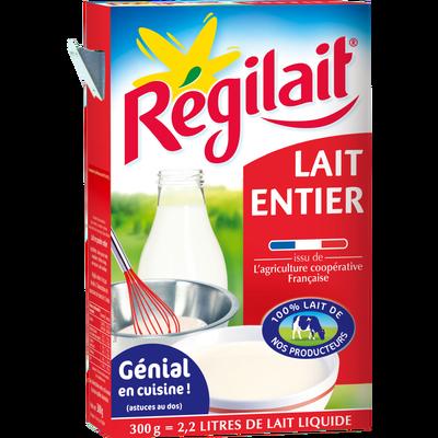 Lait entier en poudre, Regilait (300 g)