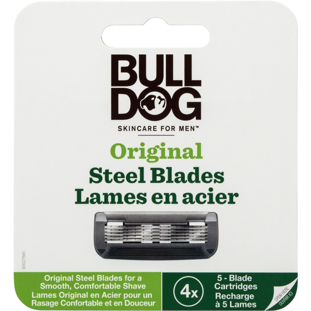 Lames en acier original, Bulldog (x 4)