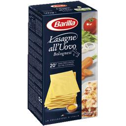Plaques de lasagnes Barilla (500 g)