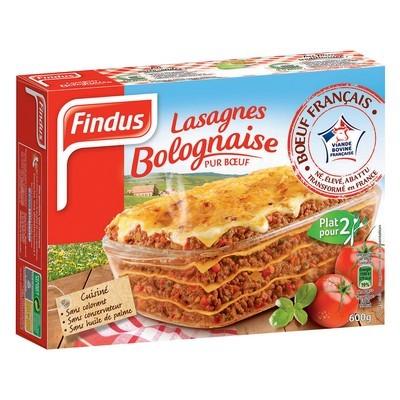 Lasagne Bolognaise, Findus (600 g)