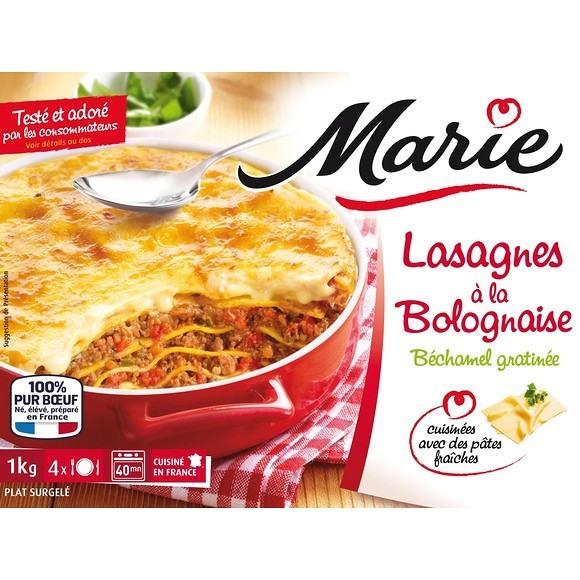 Lasagnes à la bolognaise, Marie Frais (300 g)