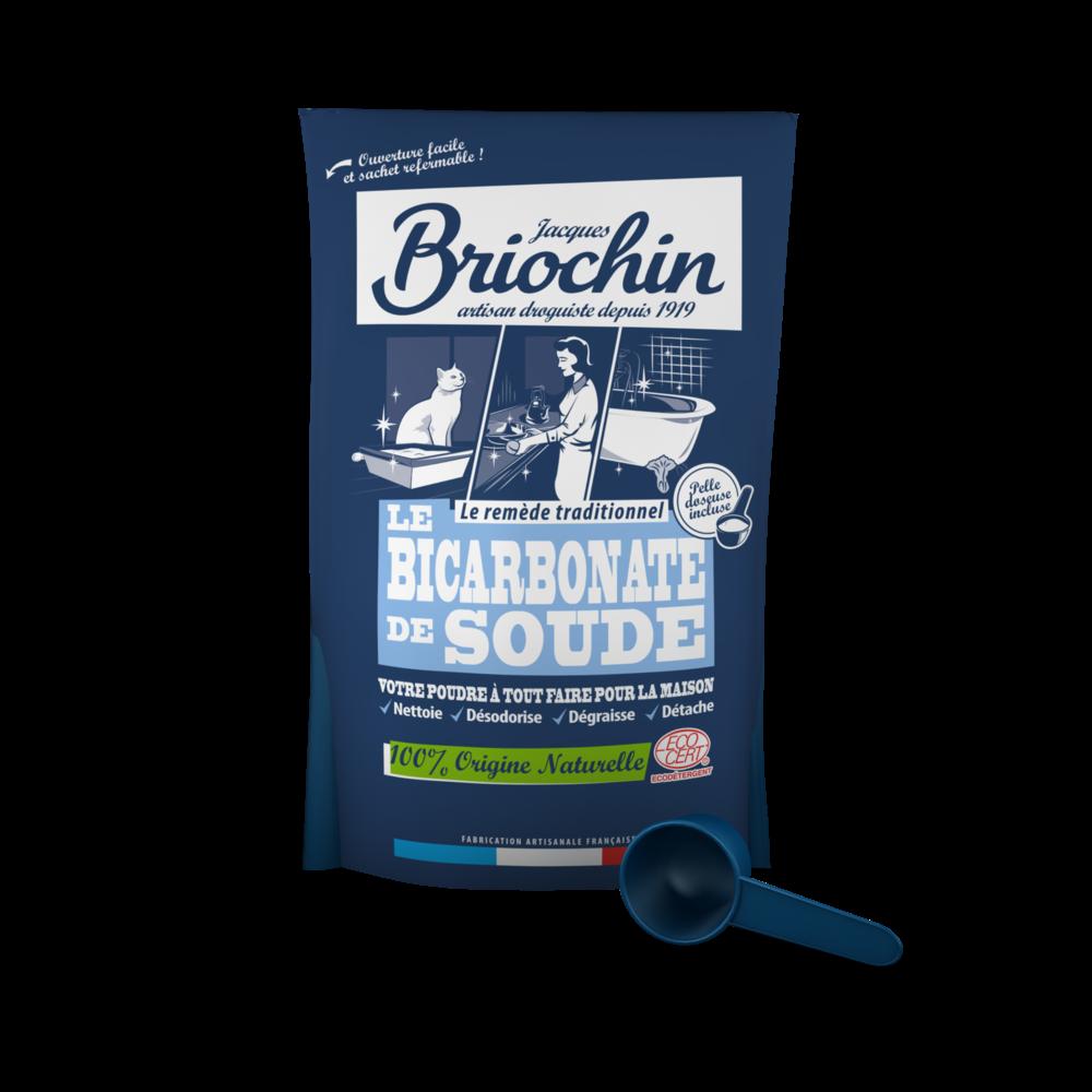 Le bicarbonate de Soude, Briochin OFFRE SPECIALE (500 g + 33% OFFERTS)