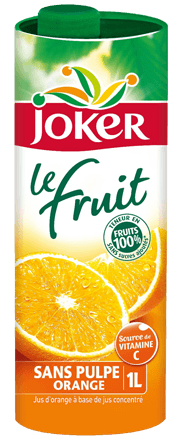 Jus d'orange sans pulpe, Joker (1 L)