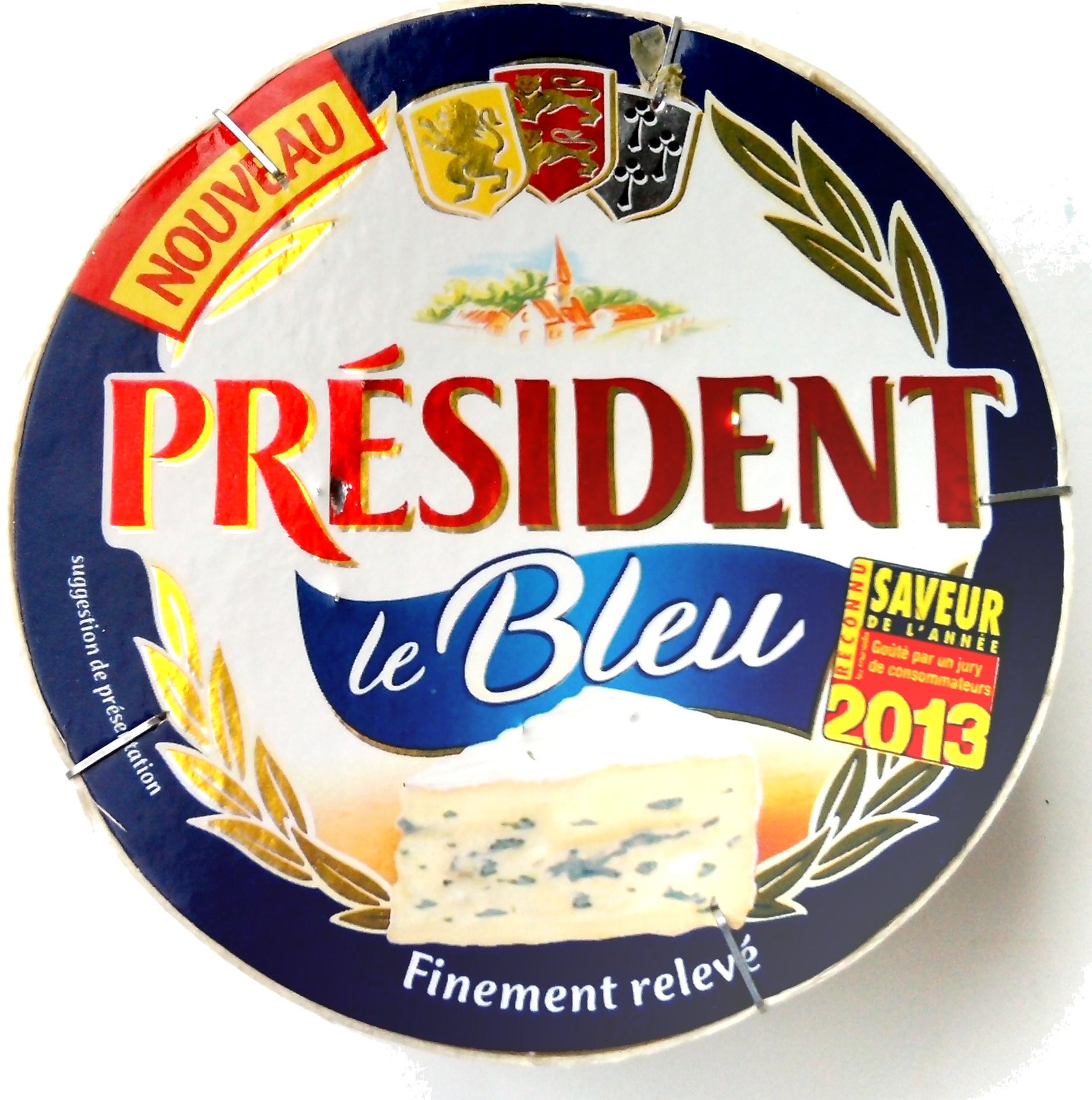Le Bleu 28 % mg, Président (145 g)