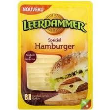 Leerdammer spécial Hamburger (x 4, 150 g)