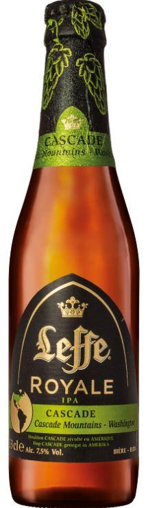 Leffe Brune Cascade Royale IPA, 7,5° (25 cl)