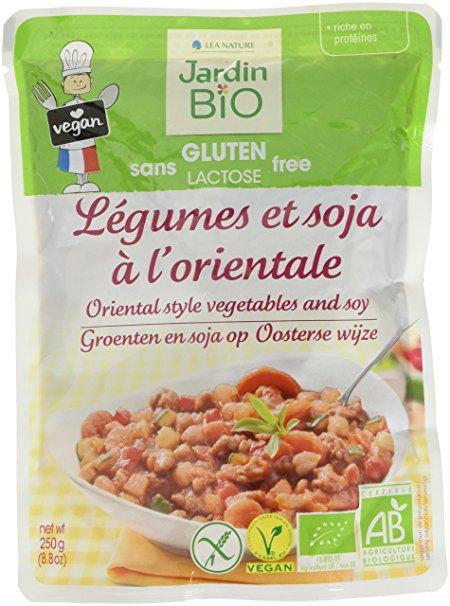 Légumes et soja à l'orientale sans gluten BIO, Jardin BIO (250 g)