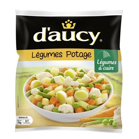 Légumes pour potage, D'aucy surgelé