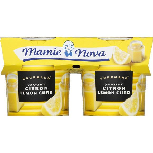 Yaourt Citron Lemon Curd, Mamie nova (2 x 150 g)