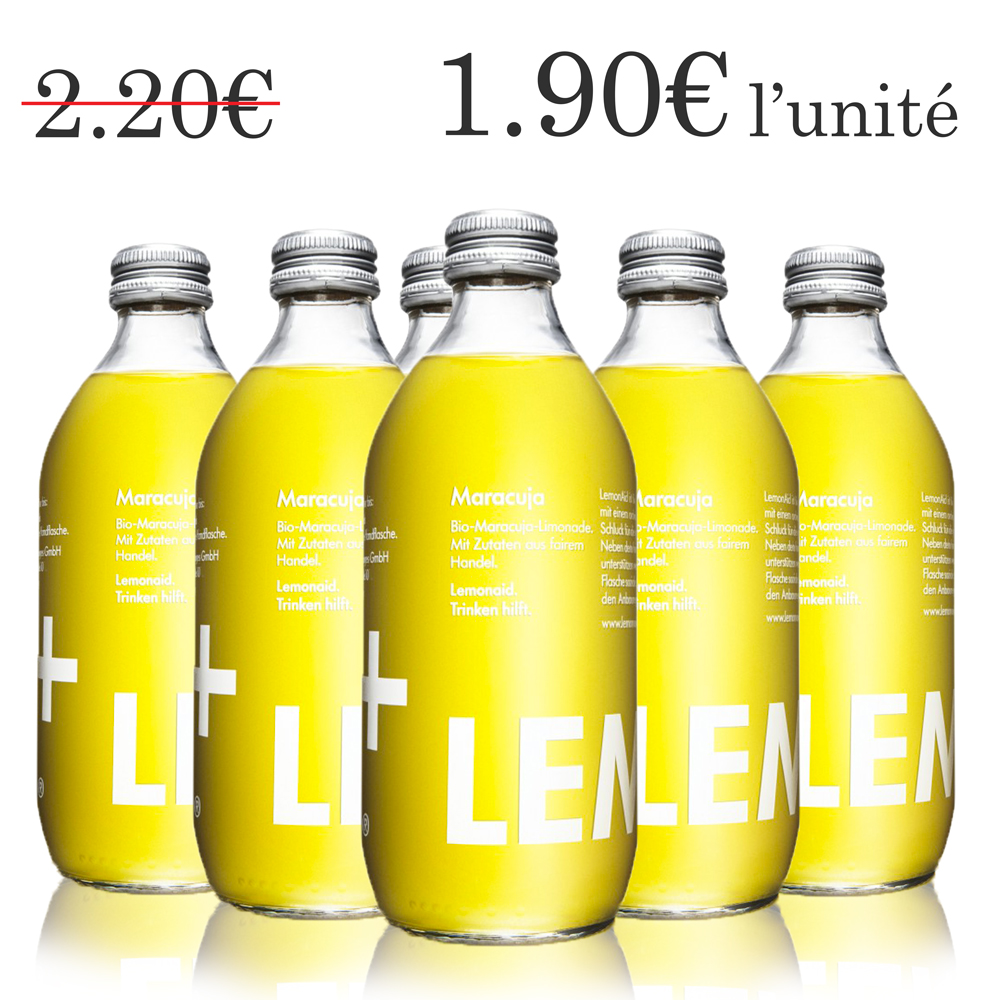 Lemonaid fruit de la passion (6x33 cl)