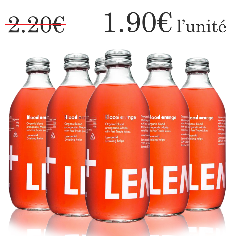 Lemonaid orange sanguine (6x33 cl)