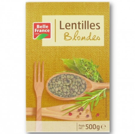 Lentilles Blondes, Belle France (500 g)