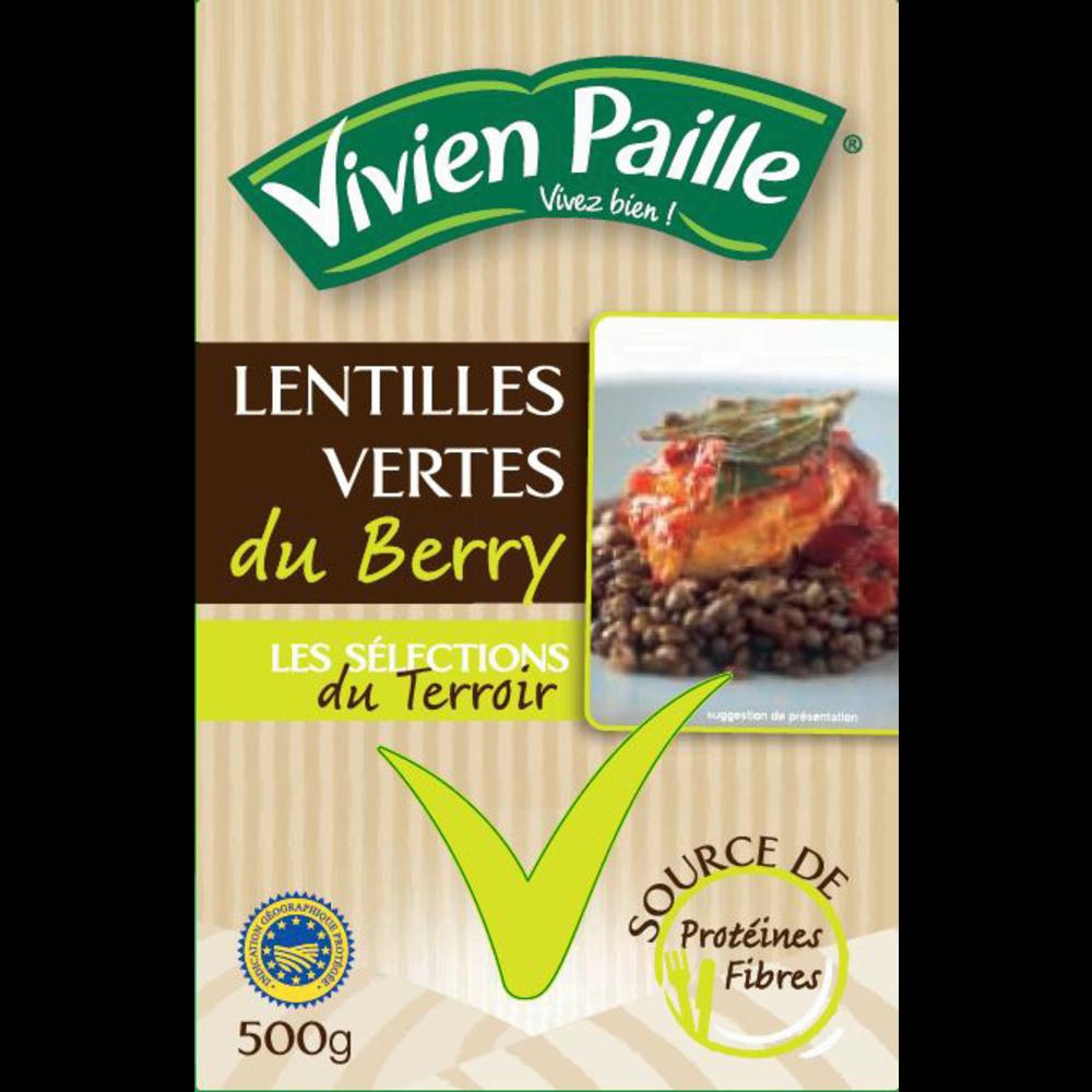 Lentilles vertes du Berry, Vivien Paille (500 g)